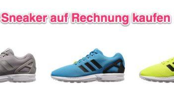 Sneaker-auf-Rechnung