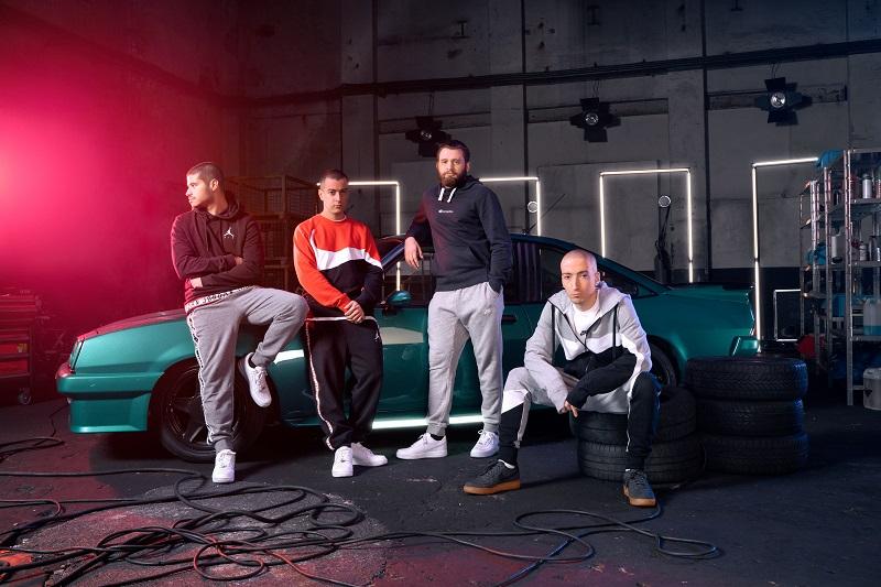 Foot Locker präsentiert die diesjährige Holiday-Kampagne mit drei Capsule Kollektionen, exklusiv zusammengestellt von Newcomer-Künstlern aus Europa